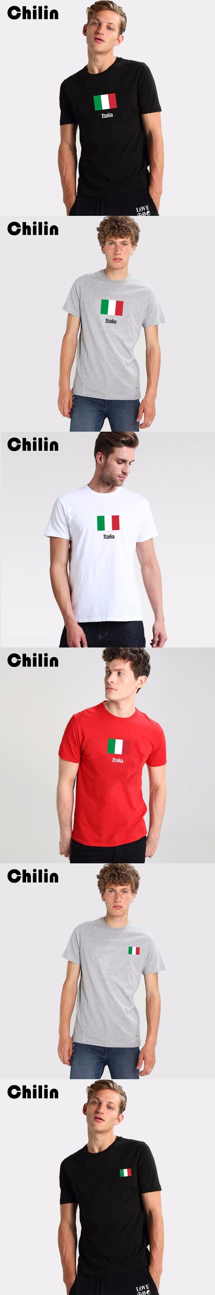 Chilin flag italy t shirt Men Short Sleeve Round Neck T-Shirt Mens Custom Made Plus Size Tees Shirt Cheap tshirt Tops Clothes