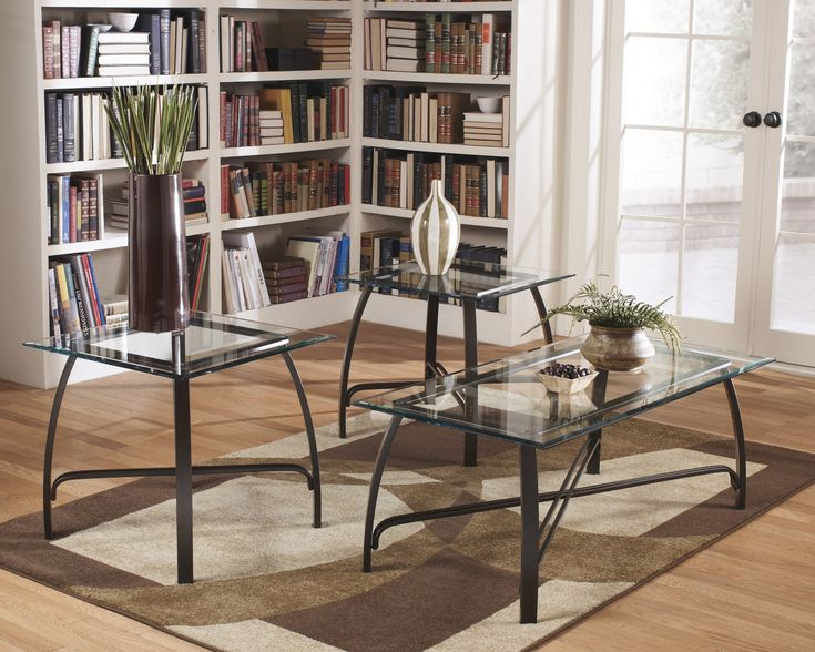 Ashley Furniture Glass Coffee Table Set   Modern Style Furniture Check More  At Http:/