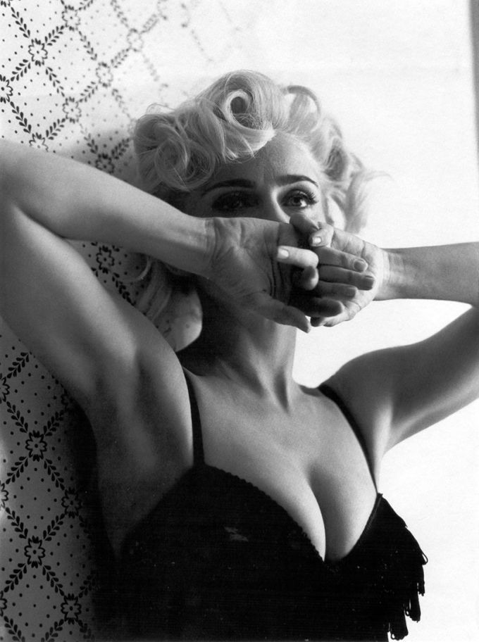 Соблазнительные фотографии Мадонны