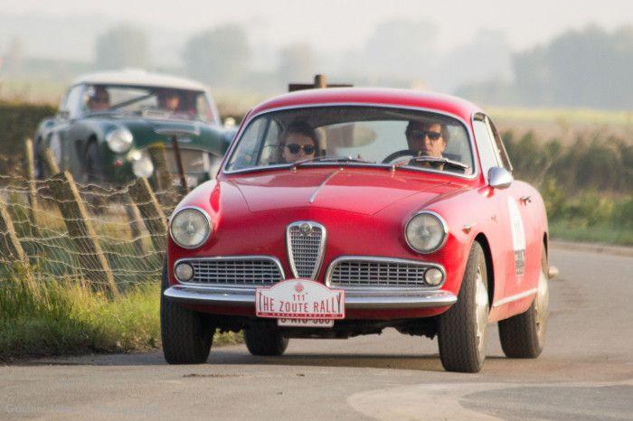 #Alfa_Romeo #Giulietta au Zoute Grand Prix. Photo : Gaultier Vilour pour News d'Anciennes. Reportage complet : http://newsdanciennes.com/2015/10/19/grand-format-zoute-grand-prix/ #ClassicCar #VintageCar #Voiture #Ancienne