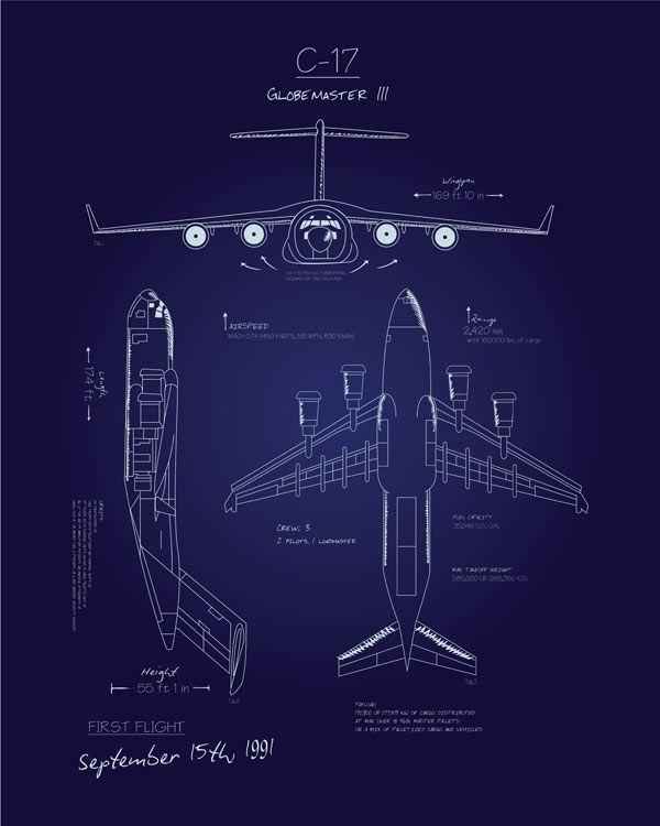 39 melhores imagens sobre blueprint no pinterest c 17 blueprint art malvernweather Choice Image