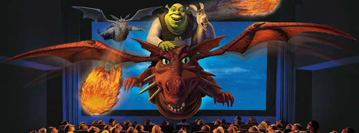 Universal Studios -- Shrek 4-D at Universal Studios Florida