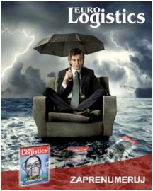 banner reklamowy dla wydawnictwa Eurologistics