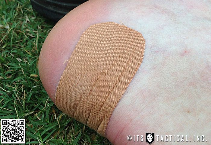 ITS Tactical  http://www.itstactical.com/fitcom/hiking-fitcom/taking-care-of-your-feet-preventing-blisters-with-leukotape-and-a-little-common-sense/