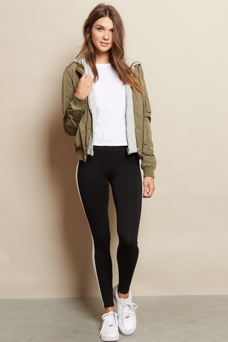 Keep it comfy - Sport Striped Legging