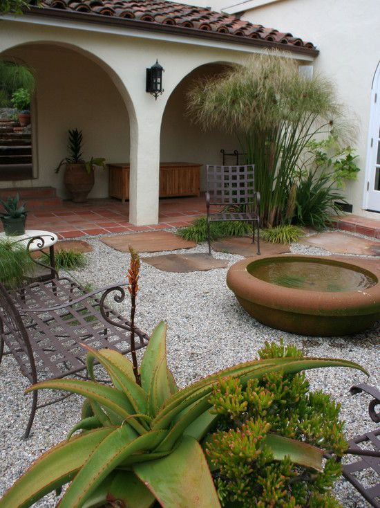 17 Best ideas about Spanish Patio on Pinterest Spanish