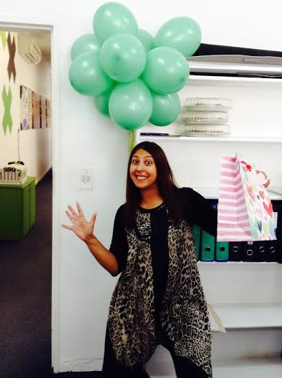 Happy belated birthday to our project manager, Ilhaam Gangat! We hope you had a SUPER day! :)