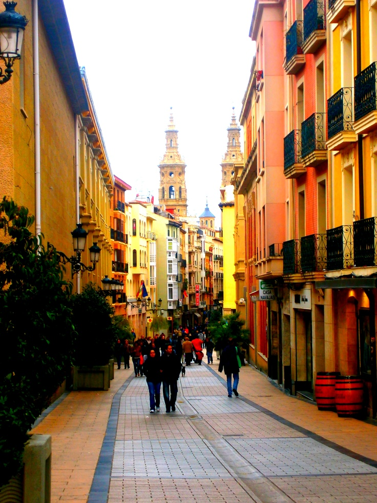 Logrono, Spain. They're famous for their red wines.