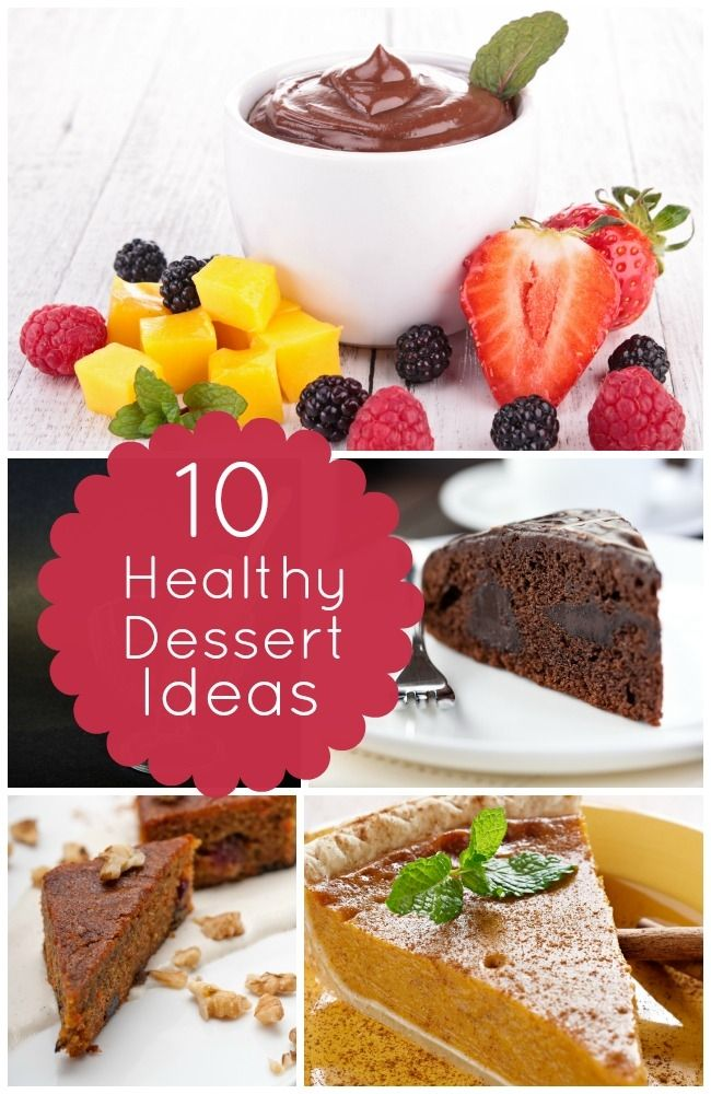 10 Healthy Dessert Recipes - Spaceships and Laser Beams