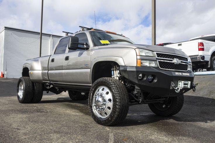 Fully Customized Duramax Diesel 2007 Chevrolet Silverado 3500 LT Dually 4x4 with tons of extra modifications all for Sale At Northwest Motorsport