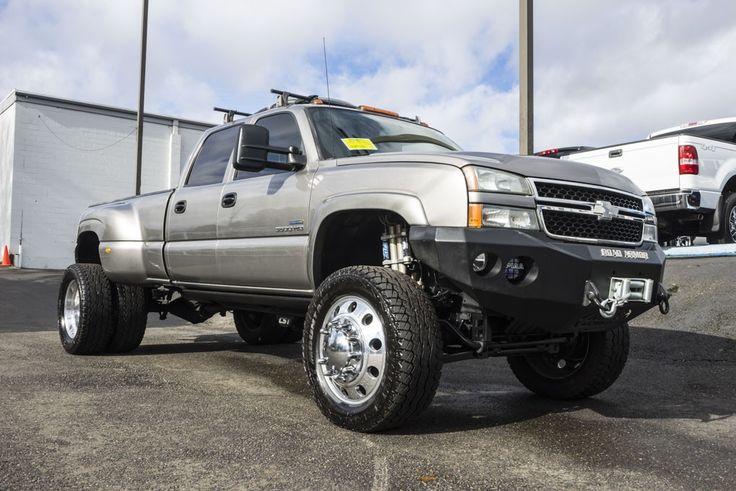 Fully Customized Duramax Diesel 2007 Chevrolet Silverado 3500 LT Dually 4x4 with…