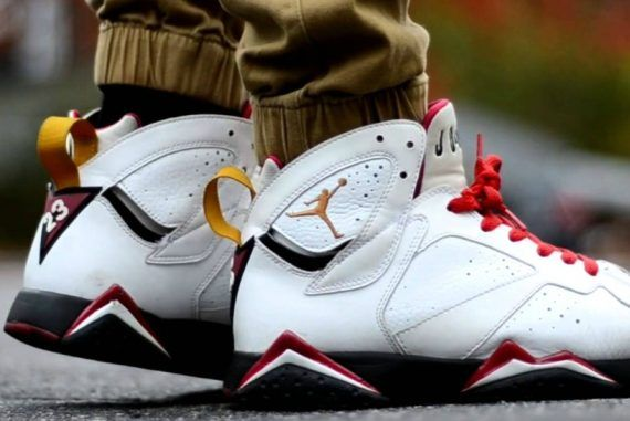 Air Jordan 7 cardinals | How to keep white shoes white | Read the full article on The Idle Man Manual | Shop Now | #StyleMadeEasy