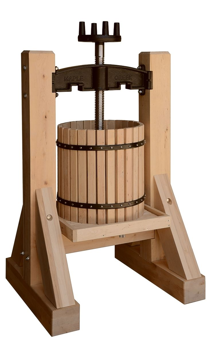 Fruit crusher grape apple crusher grinder for grape apple fruit - Maple Creek Hardwood Fruit Apple Wine Press At Pleasant Hill Grain