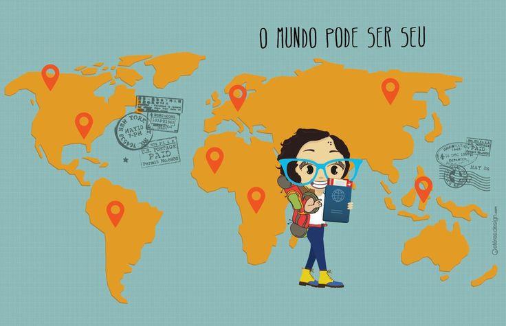 ViraVolta - Um Guia Prático para Viajar Barato