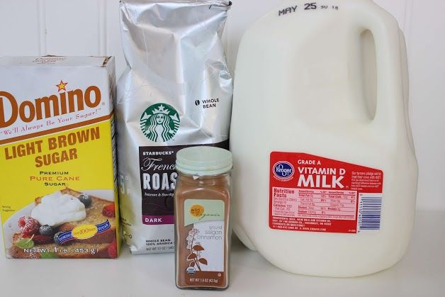 Starbucks Cinnamon Dolce Latte Ingredients
