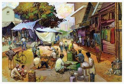 Sambodja - Pasar