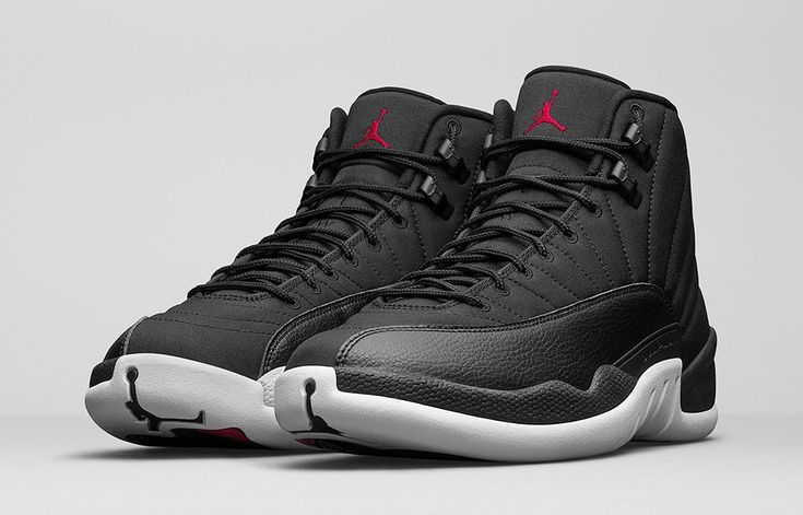 This is the Air Jordan 12 Black Nylon official launch page. View the latest images, info and release details here.