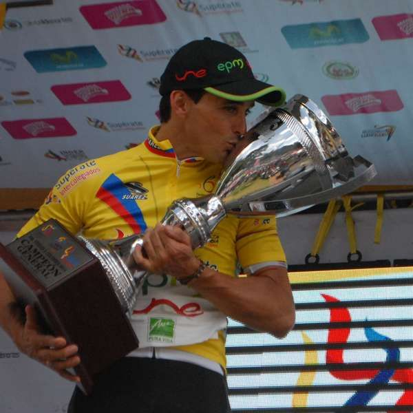 Así quedó el podio de la Vuelta a Colombia 2014