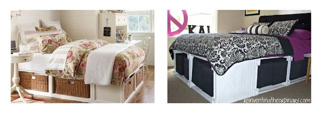 $999 without baskets vs. $100 with storage cubes( black/white/purple)