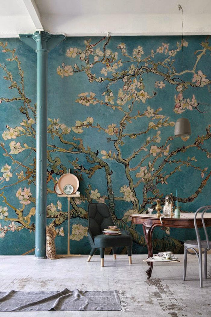 Go Van Gogh Whether you're an art connoisseur or you just want to feel like one, these Van Gogh wallpaper murals will go a long way to show the depth of your taste and character. Let's be frank, if you're gonna pick an art piece, it might as well be a classic. Dream away your... Read more