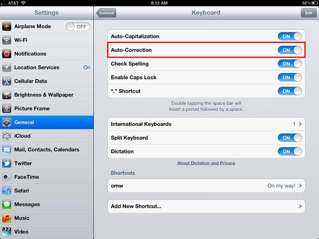 How to Turn Off Auto Correct on iPad Using Simple Technique
