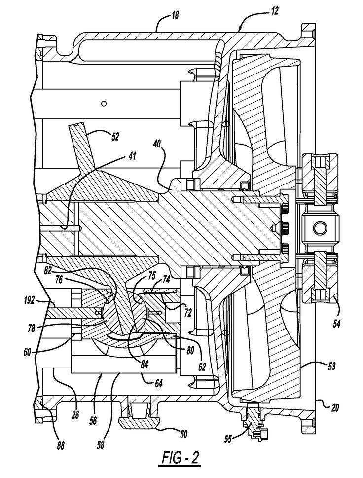 Pressure equalization system for a stirling engine US