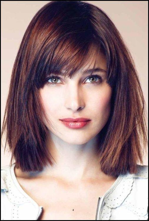 The Best Side Swept Bangs For Square Face Shape Hair Pinterest Meine Frisuren Square Face Hairstyles Haircut For Square Face Hair Styles