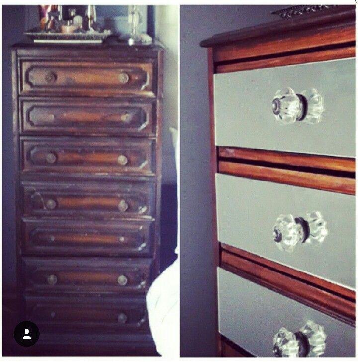 Charity store bought... Now a glamour chest