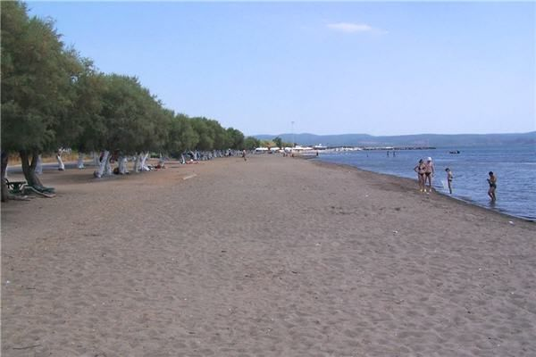 Skala Kallonis Beach, Lesvos
