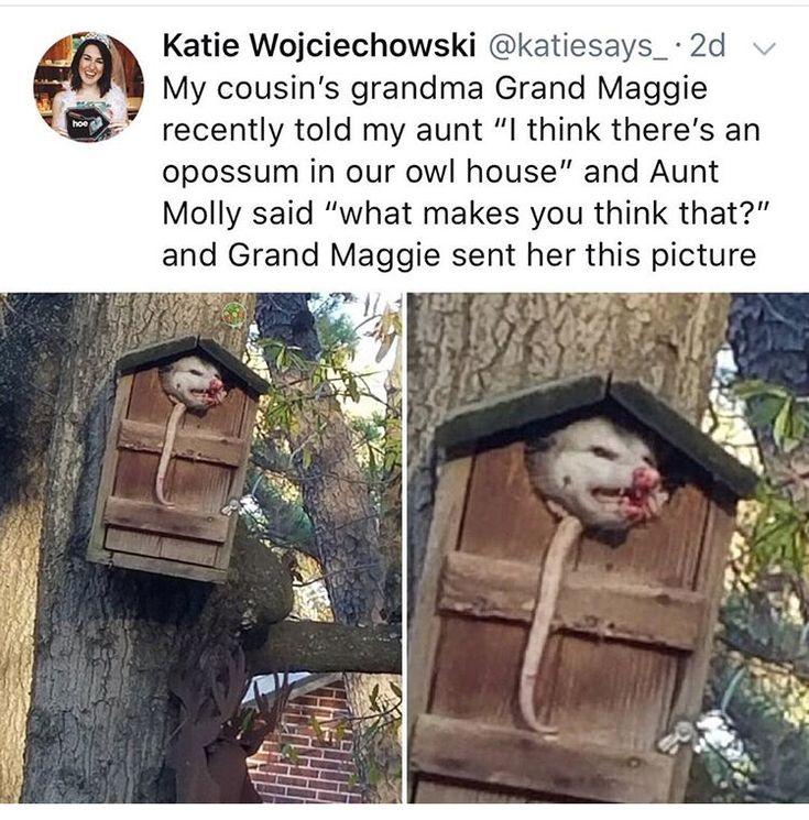 ... Grand Maggie? Grand? What?