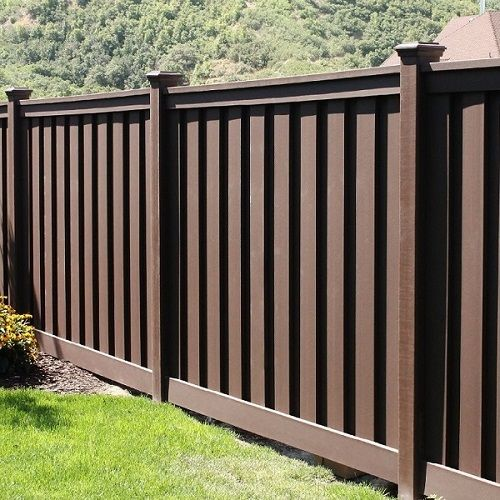 woodland brown privacy fence kit at the home depot mobile