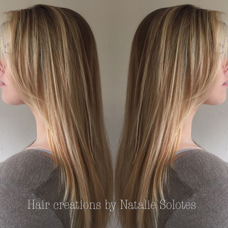 Blonde colormelt color transition using Olaplex dark ...
