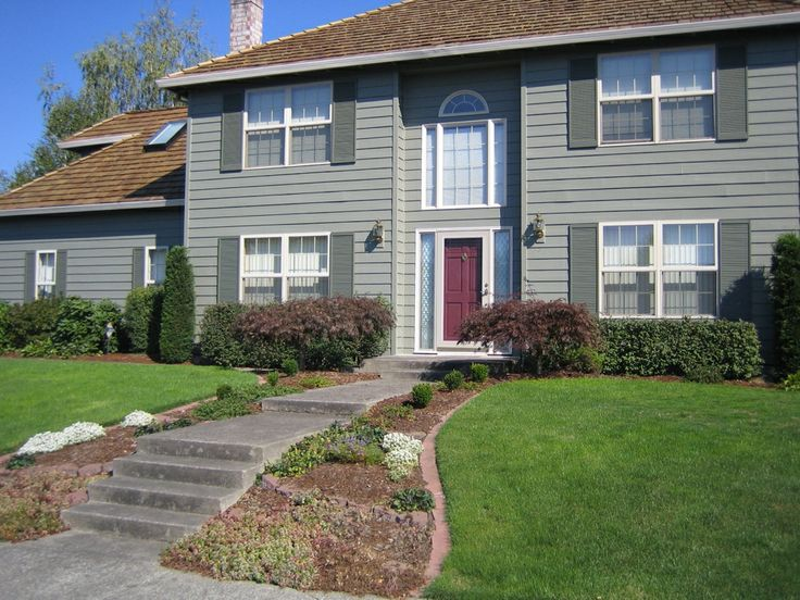 40 best images about exterior house paint color combos on - Chestnut brown exterior gloss paint ...