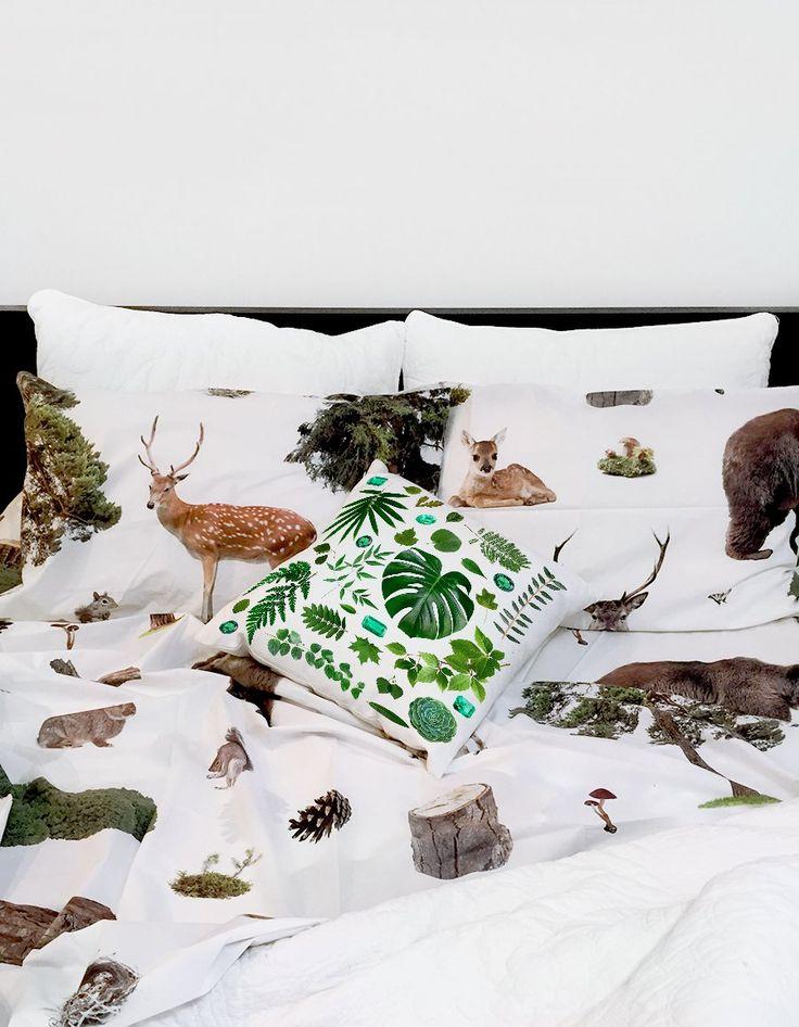 Woodlands QUEEN BED sheet set