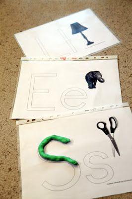 Toiminnallisia harjoituksia kirjainten opetteluun http://www.haaraamo.fi