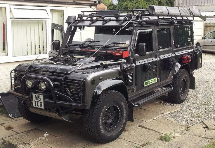 Land Rover Defender 110 TD5 - Custom Built. Re-Listed Due to Time Waster