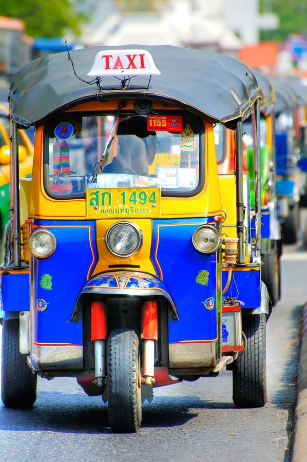 Bangkok Ding Ding Car. #holidays, #travel, adventure travel. Find great package holidays to Thailand with leading adventure travel companies.  http://www.adventuretravelshop.co.uk/adventure-holidays-asia/package-holidays-to-thailand/