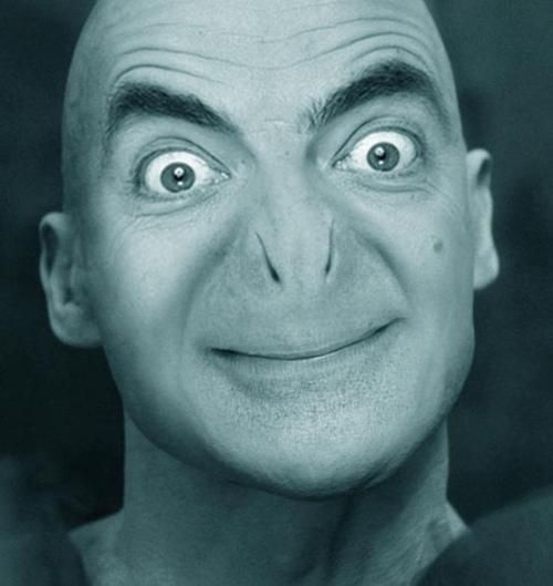 If Mr. Bean was Voldemort.: Funny Pics, Funny Celebrity, Harry Potter Memes, Lord Voldemort, Mrbean, So Funny, Mr. Beans, Photo, Mr Beans