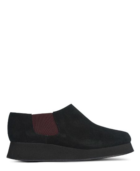 Deux Souliers / ドゥ・スーリエのEven Semi Wedge #1 オープントゥ・サイドゴア・セミウェッジシューズ (ブラック) #DeuxSouliers #ドゥスーリエ #スペイン #spain #ブーツ #ブーティー #boots #サイドゴア #サンダル #sandal #sandals #プラットフォーム #チャンキーヒール #shoes #シューズ #ブランド #インポート #スリッポン #パンプス #レザー #シューズ #靴 #靴職人 #ブーティ #ブーツ #ブラック #black #グレー #grey #drdenim #ドクターデニム #ootd #outfit #outfitoftheday #コーデ #コーディネート #commedesgarcons #コムデギャルソン #drmartens #ドクターマーチン #apc #アーペーセー #リンネル #ナチュラル #fashion #ファッション