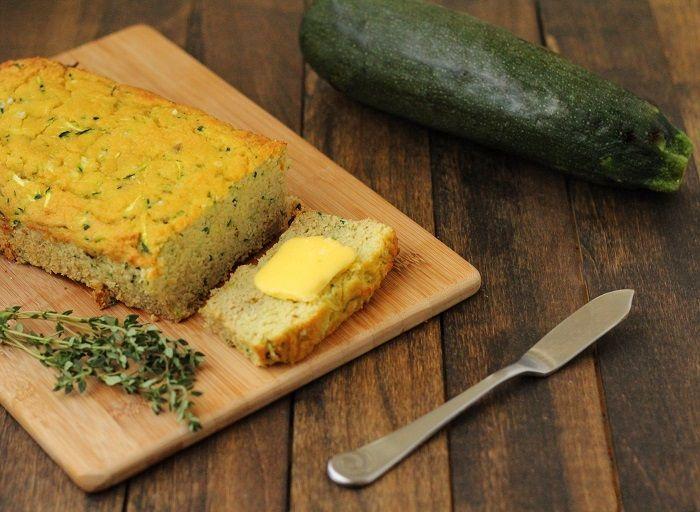 Savory Paleo Zucchini Bread