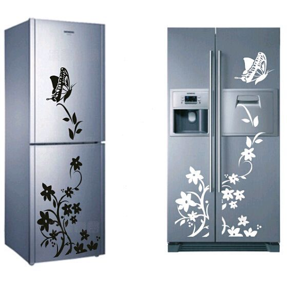 Butterfly Refrigerator Sticker //Price: $11.95 & FREE Shipping //     #housedecoration