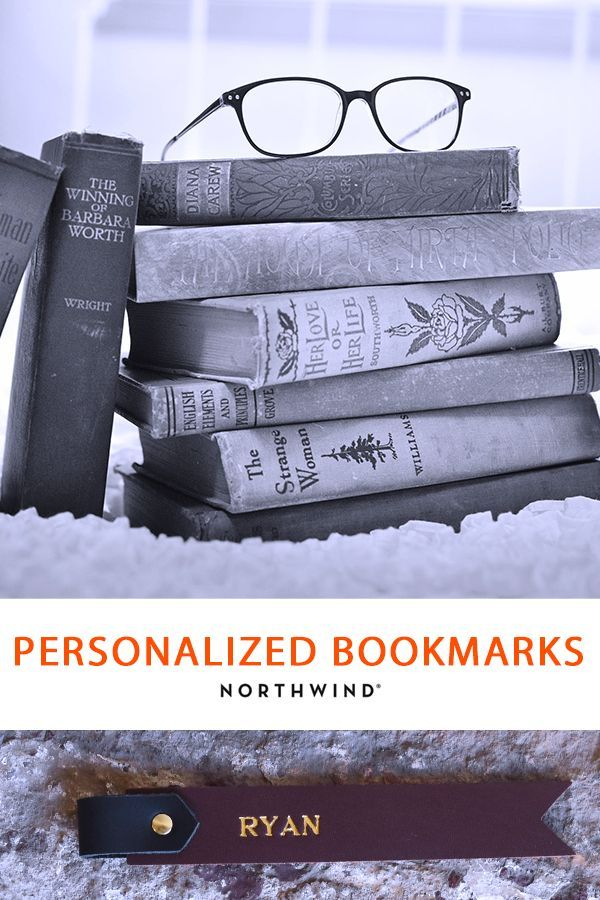 Personalized Leather Bookmark Christmas Ideas Gifts Bookmarks