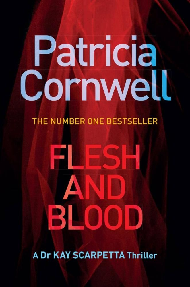 COMING NOV 6TH- Flesh and Blood. Bestselling author Patricia Cornwell delivers the next enthralling thriller in her high-stakes series starring Kay Scarpetta- a complex tale involving a serial sniper who strikes chillingly close to the forensic sleuth herself.
