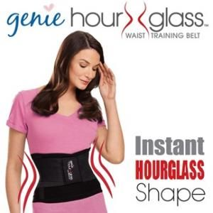 The Genie Hourglass Waist Trainer creates the perfect hourglass while forcing you to brace your core, training the muscles underneath to firm up your middle. Check it out on As Seen On TV Hot 10, great service and next day shipping.