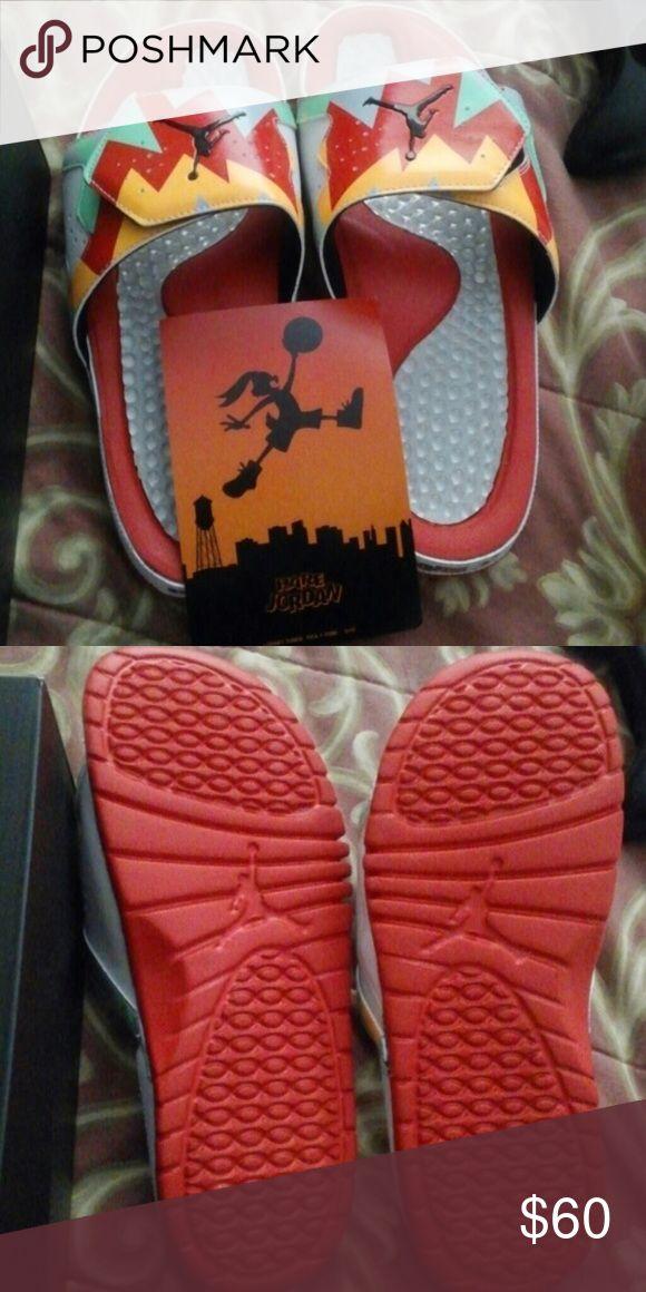 Jordan hare flip flops Jordan hare flip flops kids 4 Jordan Shoes Sandals
