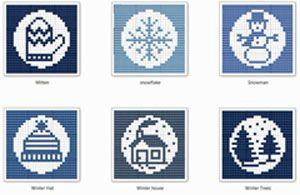 Ravelry: Winter Wonder Cloths pattern by Kris Knits