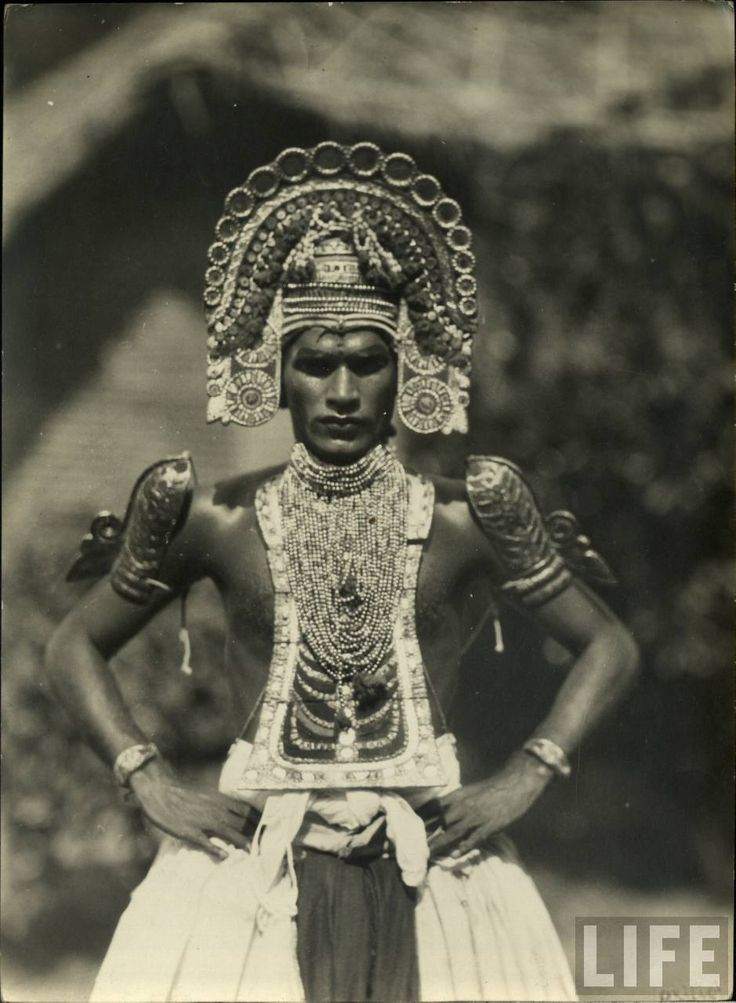 Indian dancer, date unknown