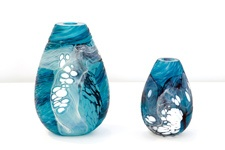 The Volcanic Series. Huka Falls  by Lynden Over, Lava Glass, Glass Blowing, Gallery, Studio, Café, Taupo, New Zealand