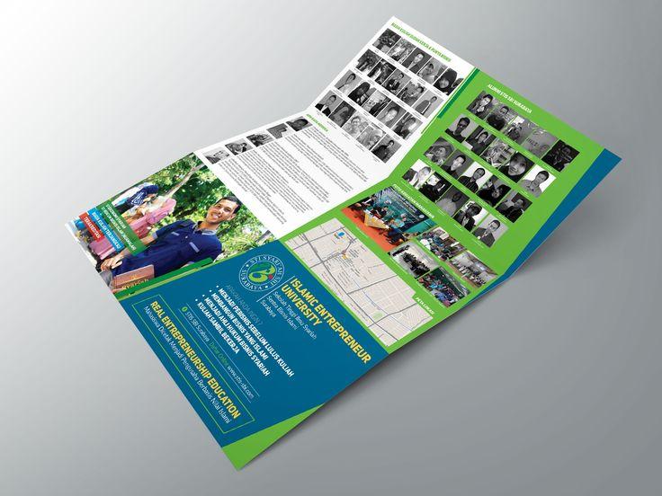 Brochure design islamic entrepreneur university