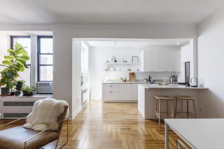 A Crown Heights Kitchen Renovation Gets A Scandi Minimalist Upgrade Scandinavian Kitchen Renovation Kitchen Renovation Ikea Kitchen Cabinets